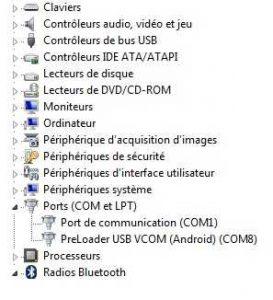USB Vcom