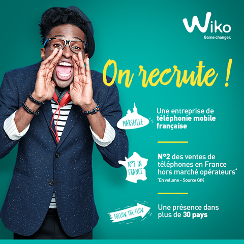 Recrutement Wiko