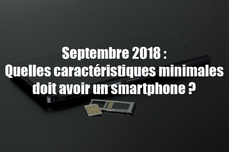 caracteristiques smartphones