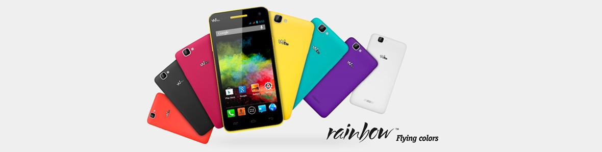 Téléphone Wiko Rainbow