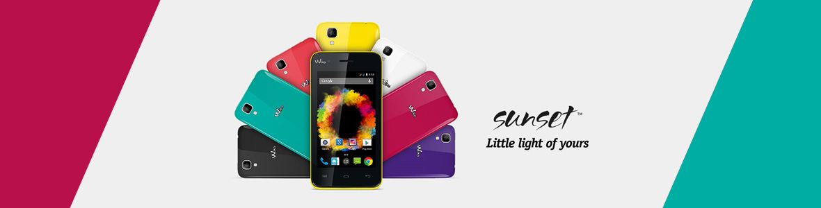Smartphone Wiko SUNSET