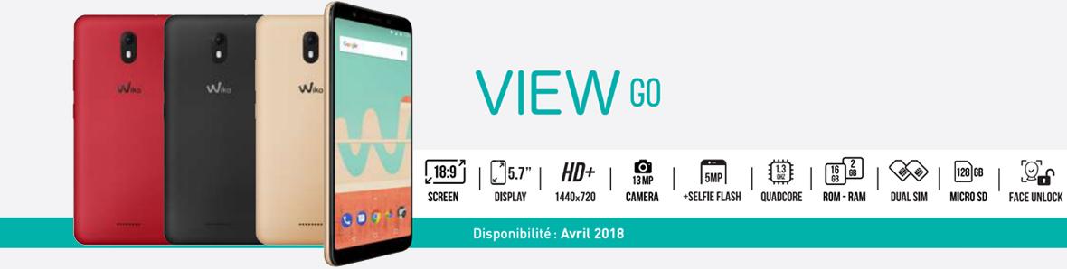 Nouveau Wiko View Go