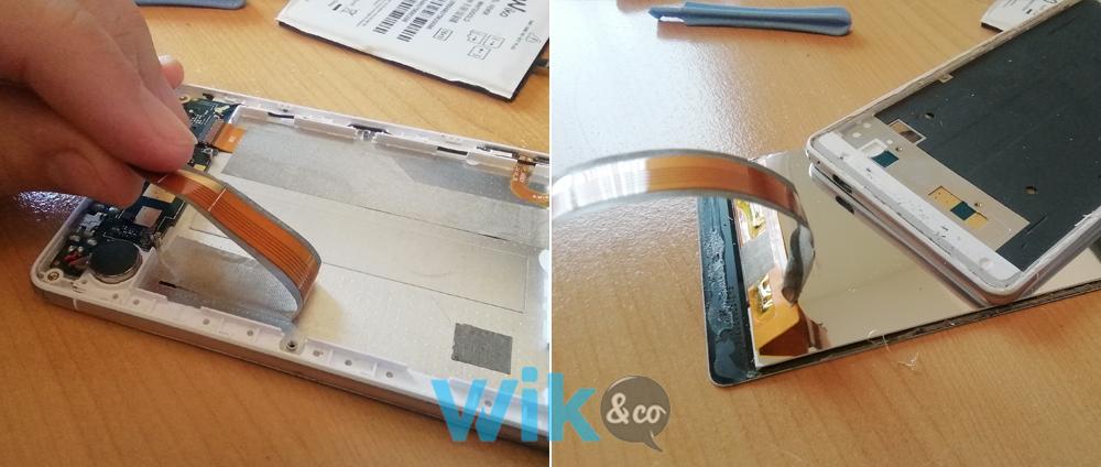 Tutoriel remplacement écran smartphone Wiko