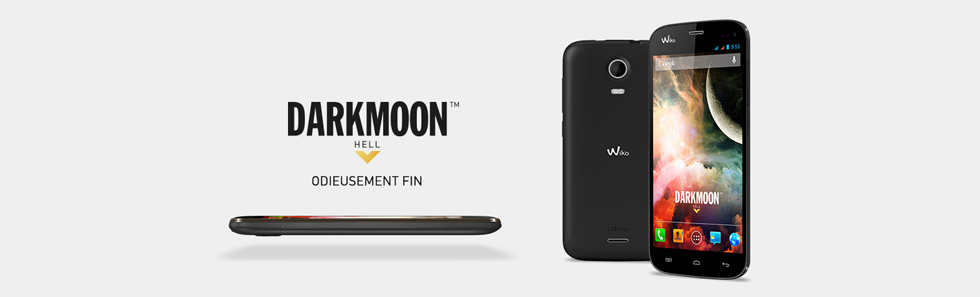 Téléphone Wiko Darkmoon